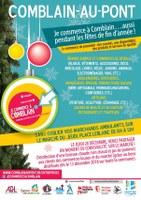 « Je commerce à Comblain, Poulseur et Pont-de-Sçay » aussi pendant les fêtes de fin d'année !
