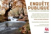Enquête publique sur les Cours d'eau
