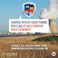 Savez-vous que faire en cas d'accident nucléaire ?