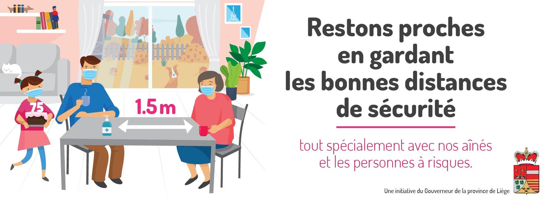 Campagne de sensibilisation en province de Liège sur l'hyper-protection des personnes vulnérables