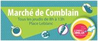 Déplacement du marché hebdomadaire ce jeudi 29/10, vers le haut de la Place Leblanc