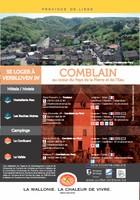 "De brochure ""Se loger à Comblain""  (overnachten in Comblain)"