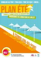 Plan été - Programme de JUILLET: l'Horeca s'anime pour sa réouverture