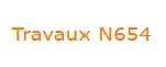 Novembre '20 - Arrêté du Bourgmestre du 13/11/2020 - Fermeture de la N654 à hauteur de la rue de la Gendarmerie