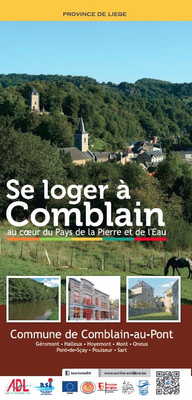 """Le dépliant """"Se loger à Comblain"""" - édition 2014"""
